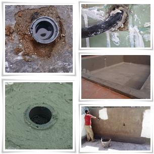 Reparación de perdidas de agua y filtraciones