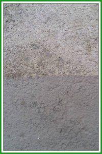 Muro de una piscina con mortero impermeable